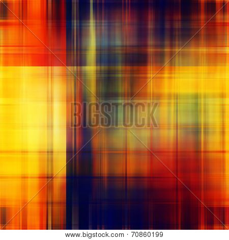 art abstract geometric pattern blurred background in red, brown and gold colors