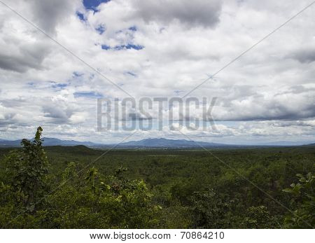 Mountain View At Thailand National Park