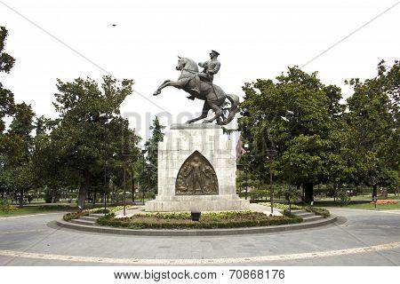 Samsun Mustafa Kemal Ataturk Statue