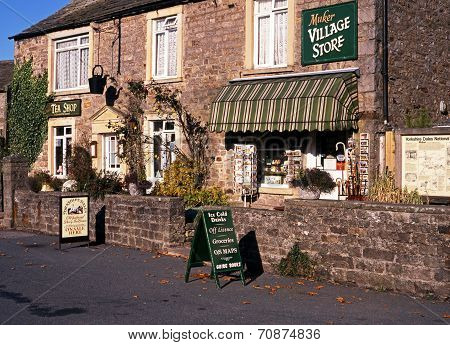 Village store, Muker, Yorkshire Dales.