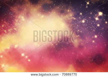 Galaxy with stars and fantasy universe space. Also perfect for night sky background.