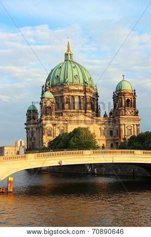 Berlin Cathedral And Spree River