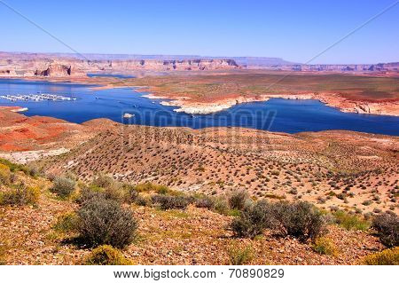 View over Lake Powell