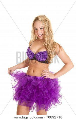 Purple Tutu With Spikes