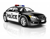 picture of police  - Police Car - JPG