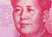 stock photo of yuan  - yuan notes from china - JPG