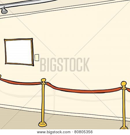 Small Frame And Stanchion