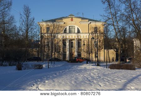 Literary-historical museum of the city of Pushkin. (Tsarskoye Selo). Russia.