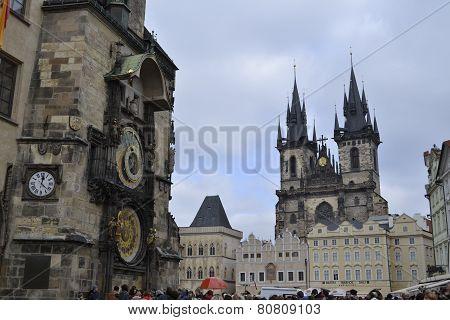 Prague's landmarks