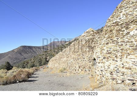Charcoal kilns in Death Valley