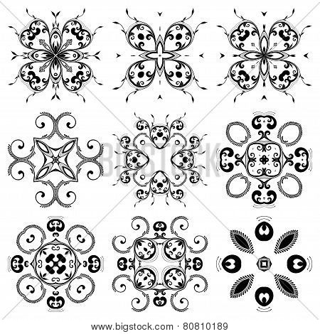 A Round Set Of Ornaments