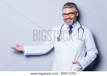 Doctor Advertising Your Product.