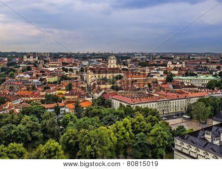Vilnius - capital city of Lithuania