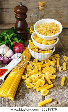 Different Kinds Of Italian Pasta