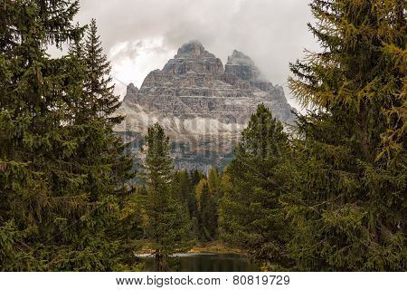 Tre Cime National Park, Dolomites, Italian Alps