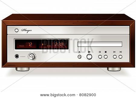 CD or DVD Player