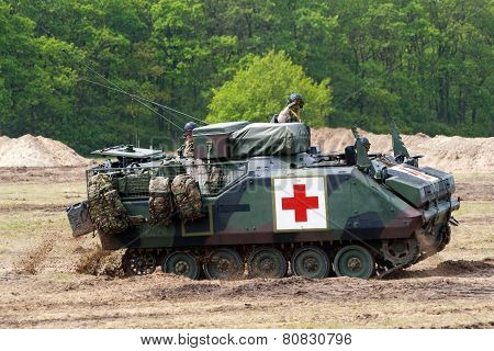 Army Armoured Personnel Carrier