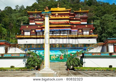 Indian Buddhistic Monastery