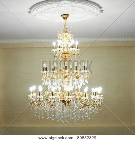 Beautiful Crystal Chandelier