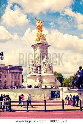 The Victoria Monument, London