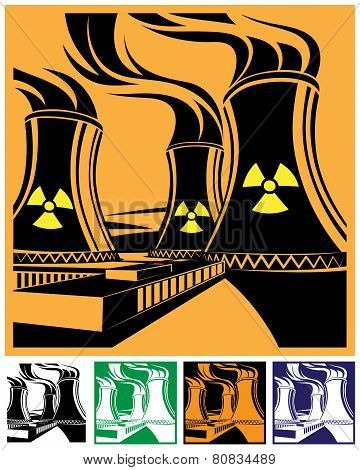 Nuclear Power Station Set
