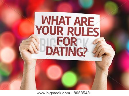 All the rules dating
