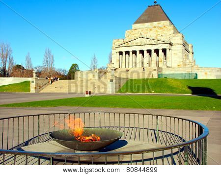 Eternal Flame Shrine of Remembrance