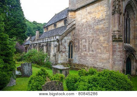 Castle Combe, old church
