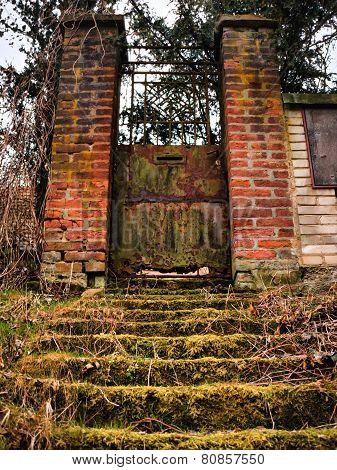 Old Rusty Gate