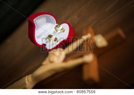Rosary And Weding Rings