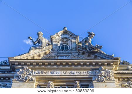 Entrance Of The Bayerische Hypotheken- Und Wechsel-bank