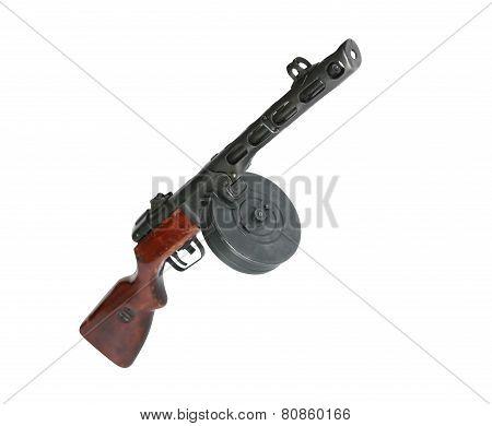 Soviet Machine Gun Ppsh-41