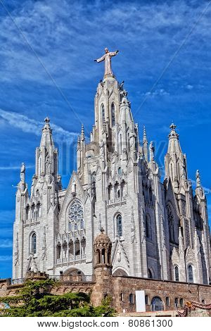 Church of the Sacred Heart of Jesus (Temple Expiatori del Sagrat Cor)