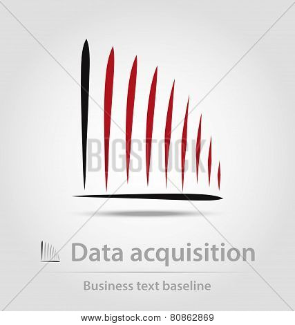 Data Acquisition Business Icon