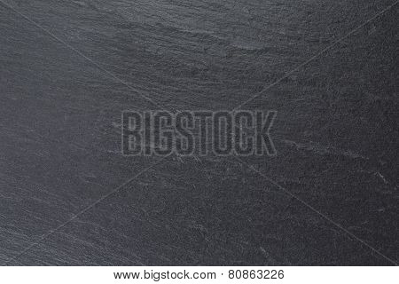 Natural Black Slate Background