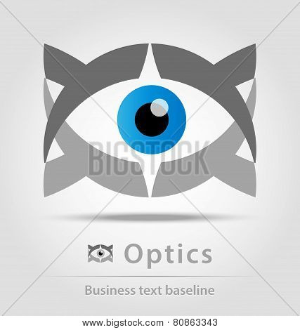 Optics Business Icon