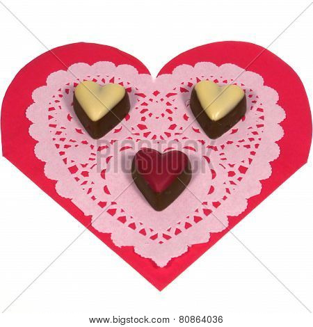 Hearts vfor Valentine or mothers day