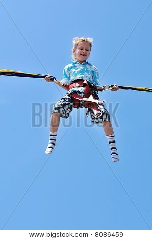 Boy In Sky