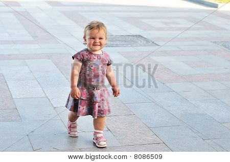 Walking Baby Girl