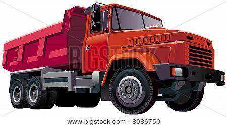 Red Dumper