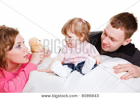 Parents Playing With Baby