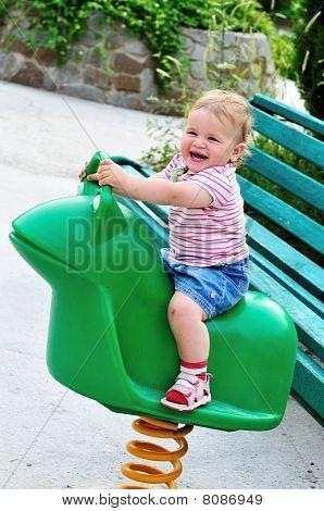 swingende baby