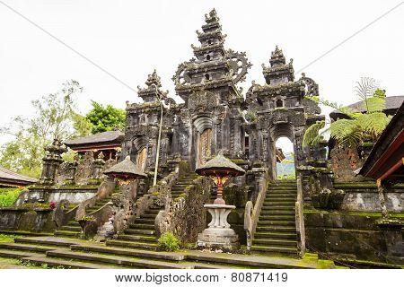 Besakih Complex Pura Penataran Agung , Hindu Temple Of Bali, Indonesia