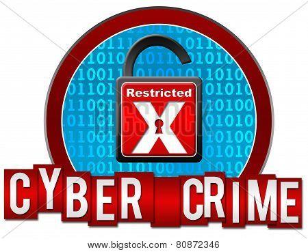Cyber Crime Circle Stripes