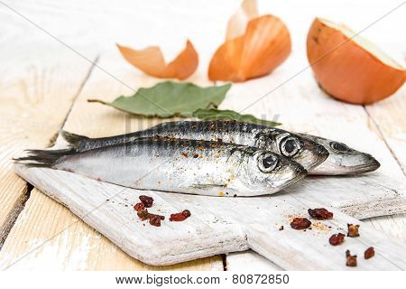 Fresh Fish On The Table