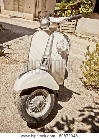 Vintage Italian Scooter