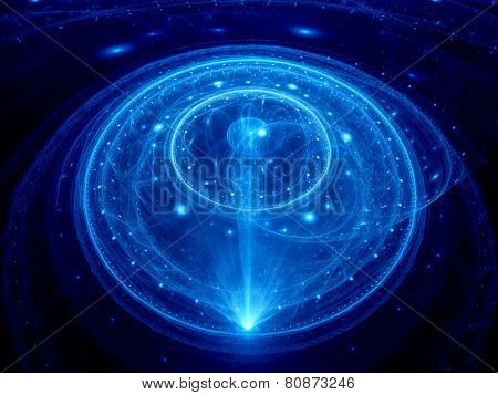 Dimensional Gate In Space