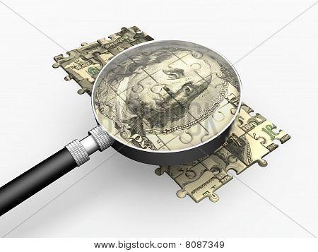 Dollar puzzle.