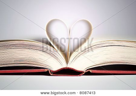 Hear Shaped Pages