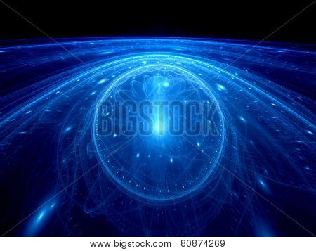 Dimensional Gate On Event Horizon